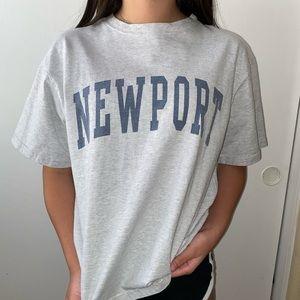 John galt ( brandy melville) newport t shirt